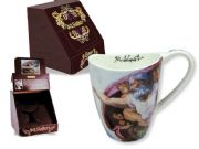 Designer Mug Decorated with Michelangelo Painting